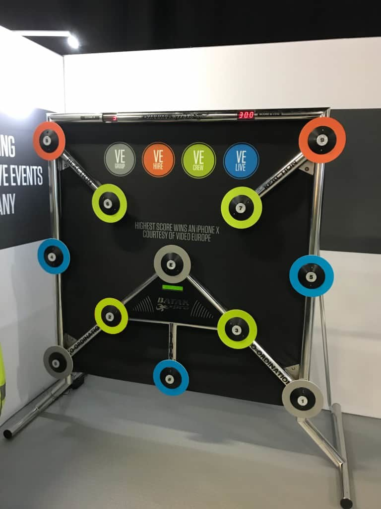 batak pro reaction wall game hire