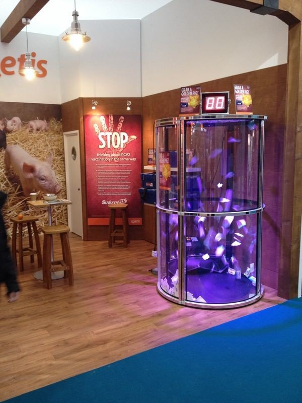 Exhibition Stall Games : Cash grabber hire grab a grand event entertainment