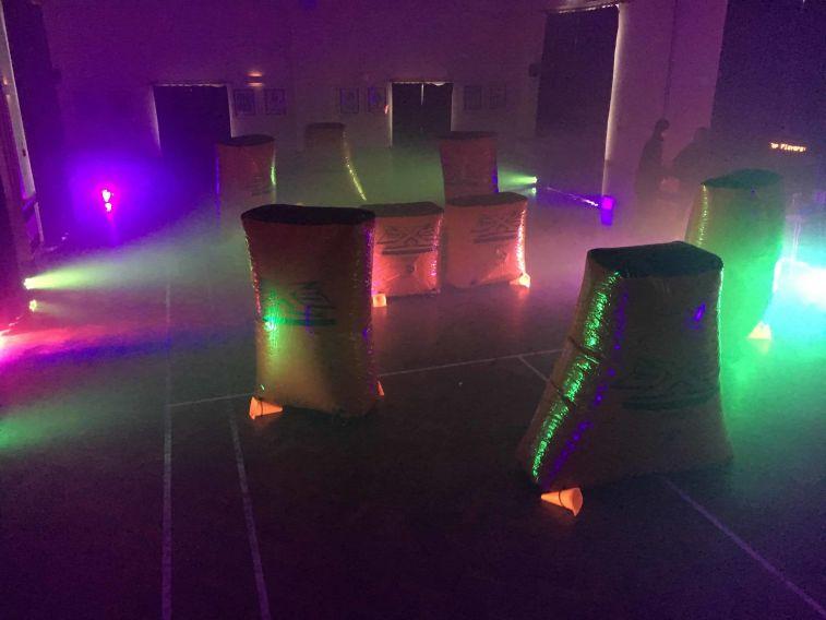 Indoor Laser Tag Setup