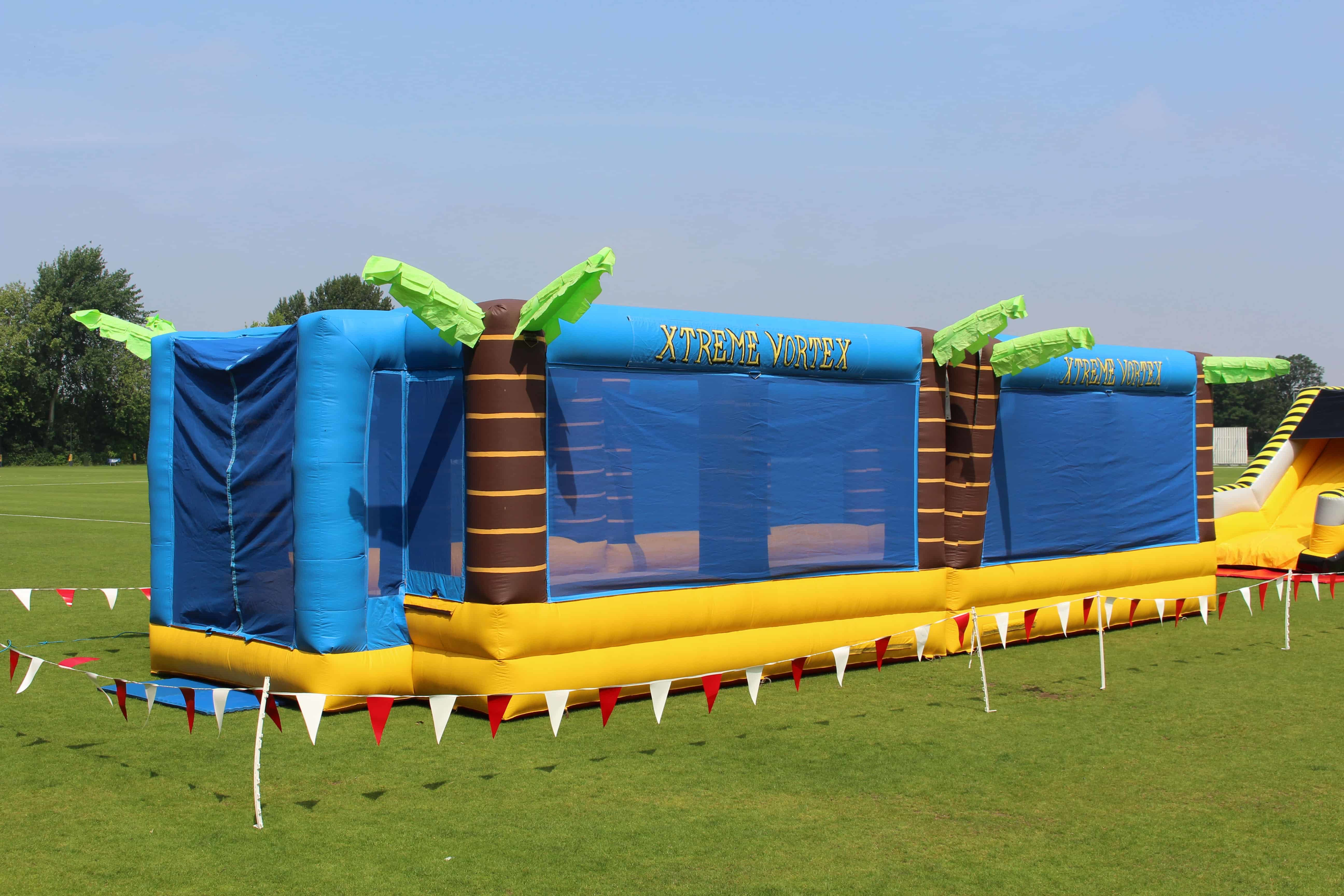 Inflatable Sports Arena Hire Basketball Volleyball Games