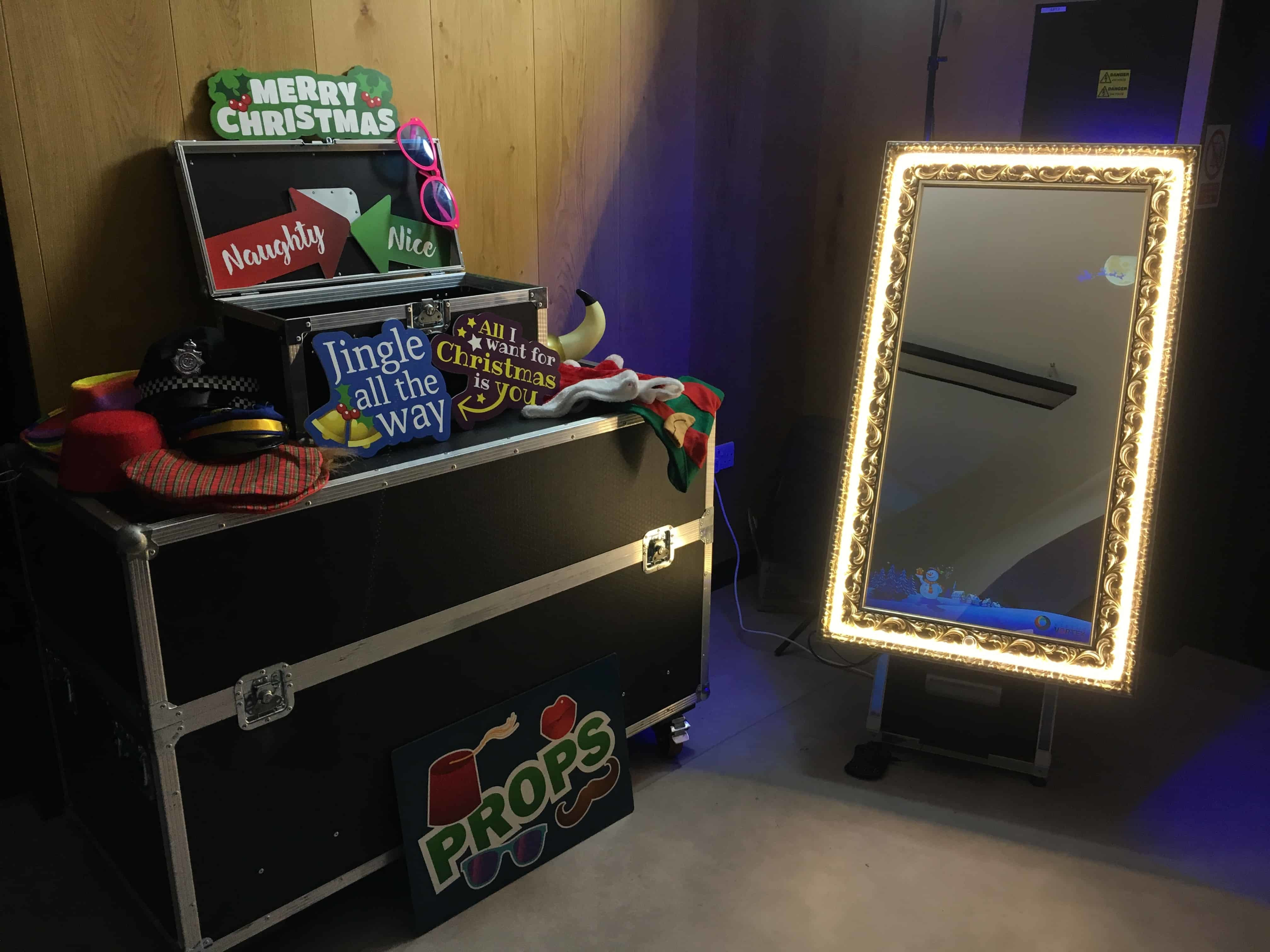 Magic Selfie Mirror Photo Booth Hire Kent London Essex