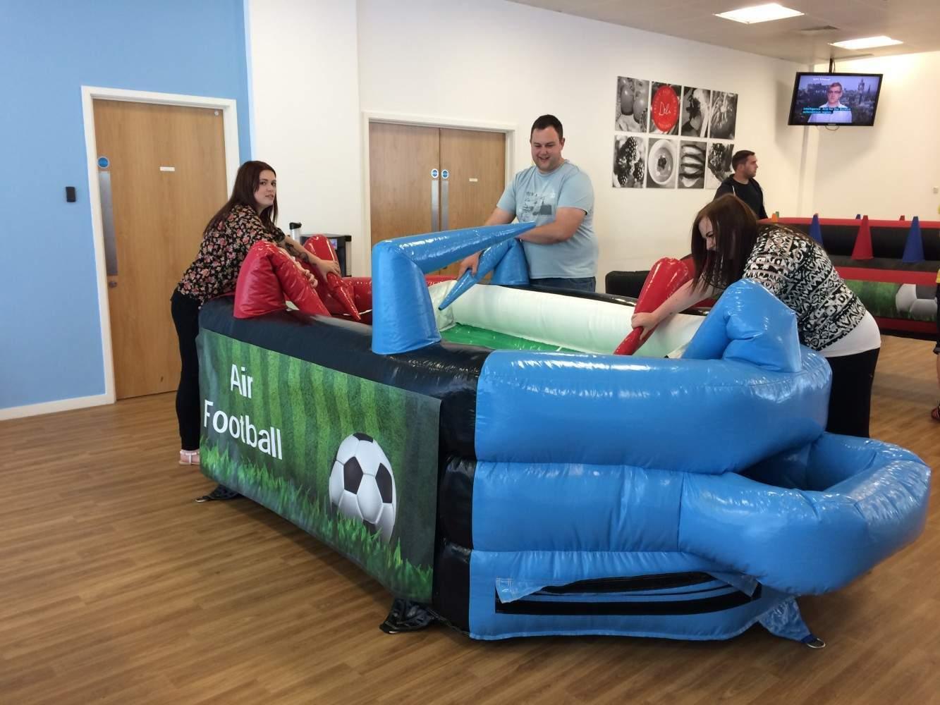 Inflatable Air Football Air Hockey Hire London South East
