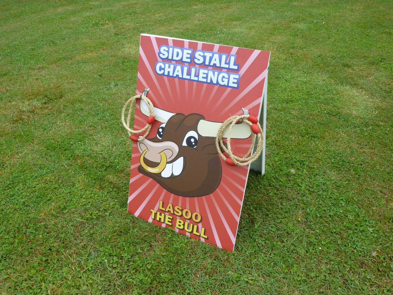 Lasso The Bull Traditional Side Stall Games Hire London