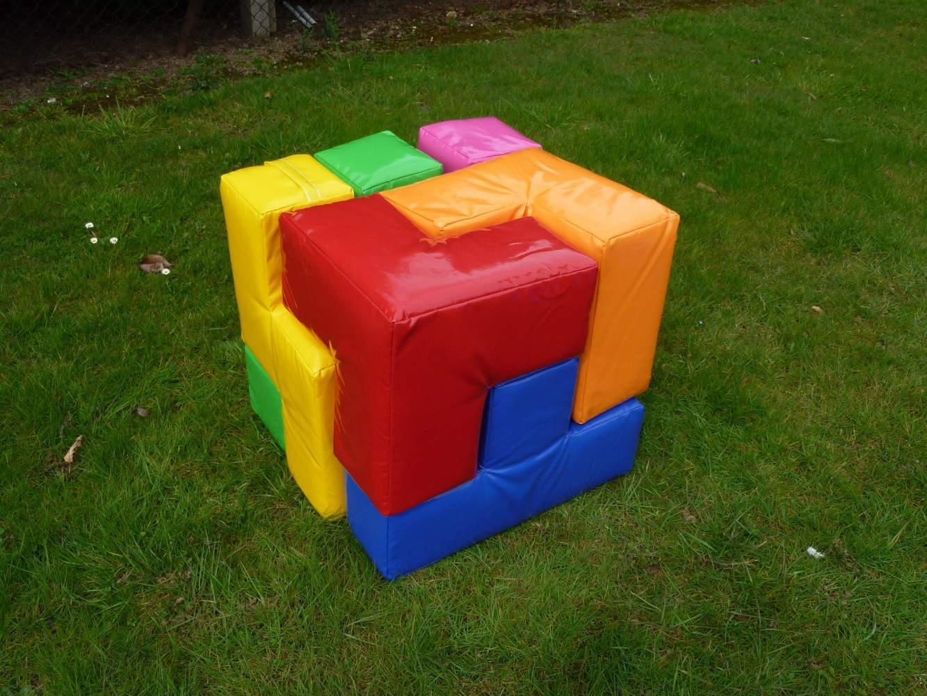 how to make cube puzzle game