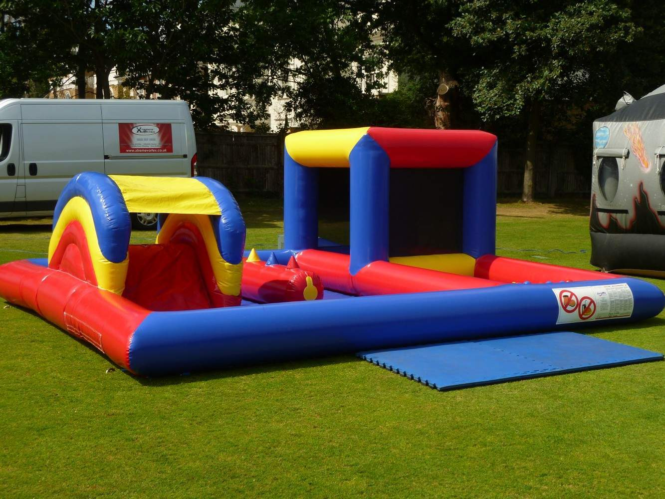 childrens inflatable play zone ball pond toddler bouncer