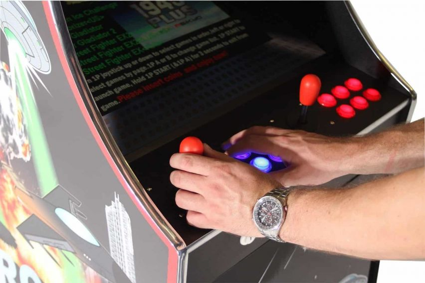 Arcade Game in Action