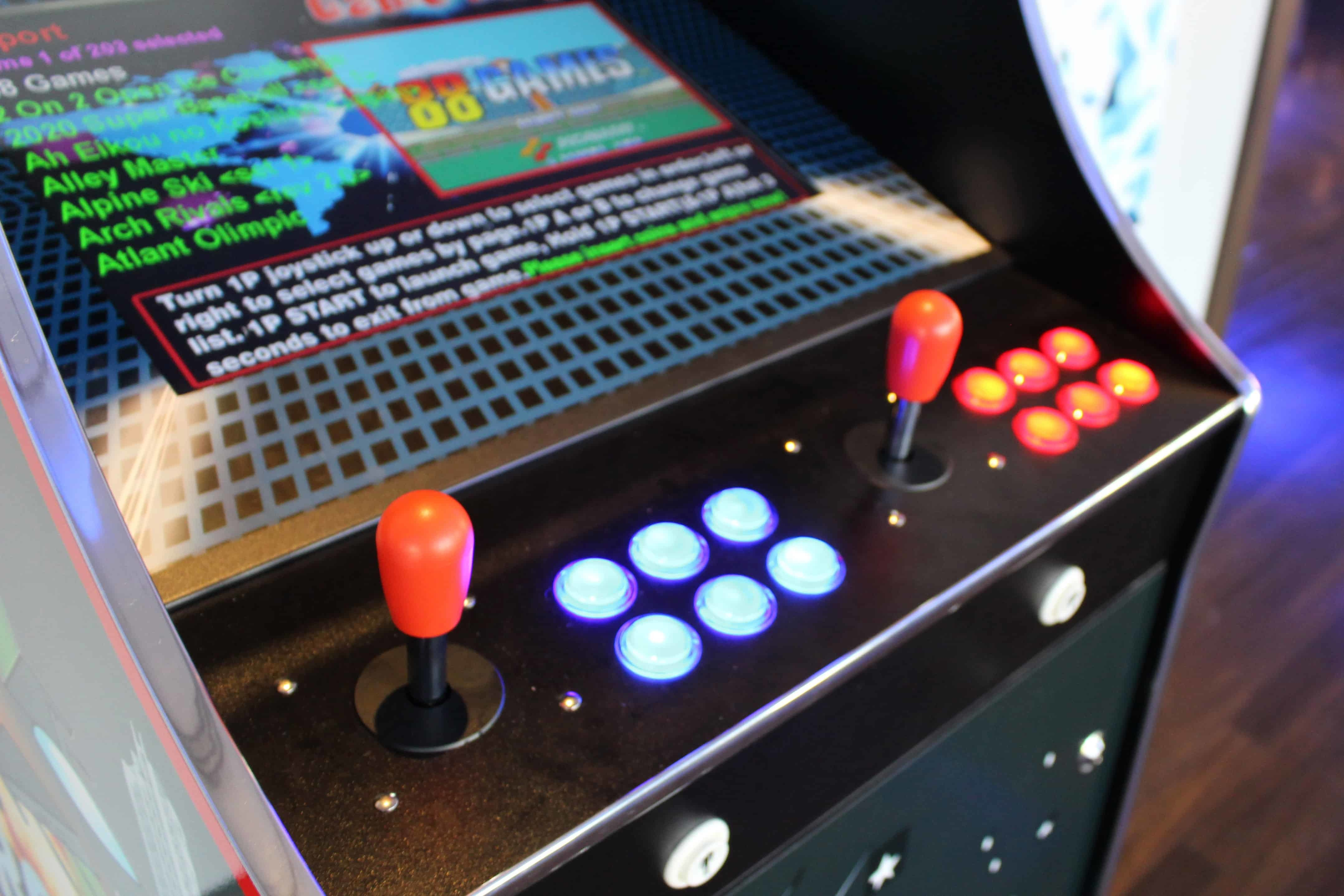 Retro Arcade Game Hire | Pac Man | Street Fighter | Frogger