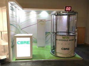 Branded cash grabber by CBRE