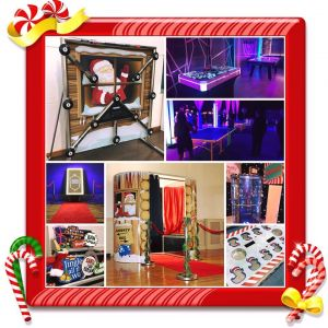 Christmas Collage Events Hire