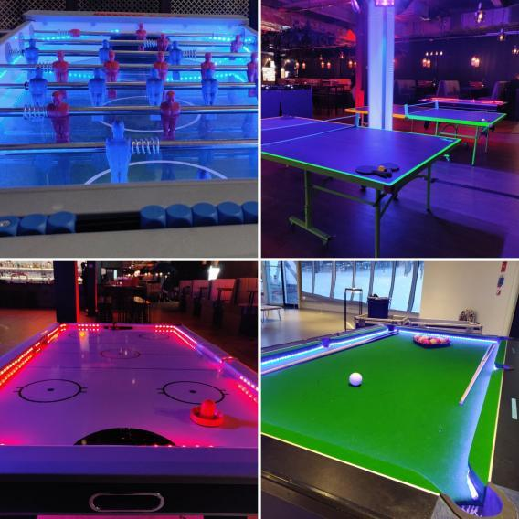 Four LED Pub Game Activities at Events